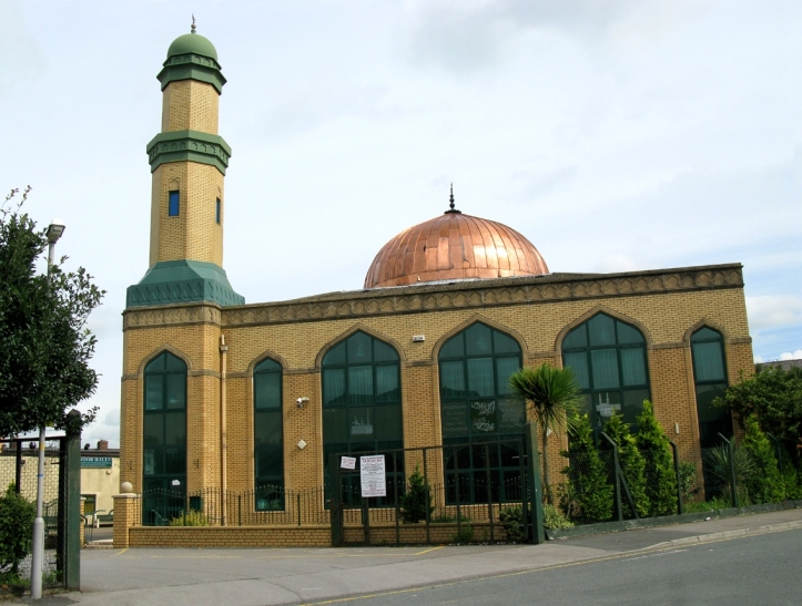 An Nour Mosque in Preston, England
