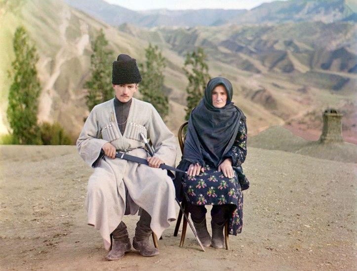 Pasangan di Dagestan