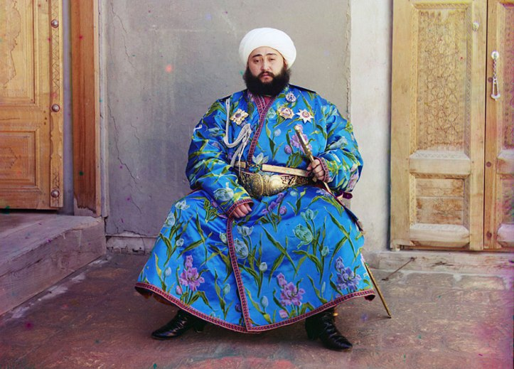 7-The-Emir-of-Bukhara-Alim-Khan-1880-1944-poses-solemnly-for-his-portrait-taken-shortly-after-his-accession.-As-ruler-of-an-autonomous-city-state-in-Islamic-Central-Asia-the-Emir-presided-ove